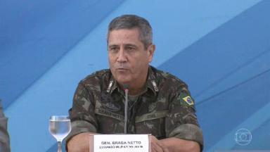 Governo faz trocas de comando em alguns ministérios - O general Walter Souza Braga Netto vai assumir a Casa Civil que era comandada por Onyx Lorenzoni. Lorenzoni vai agora para o Ministério da Cidadania.