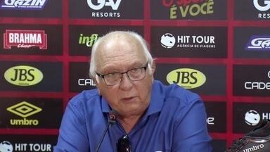 Presidente do Sport explica escolha por saída do técnico Guto Ferreira - Presidente do Sport explica escolha por saída do técnico Guto Ferreira