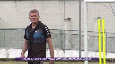 Paulo Autuori é apresentado e começa quarta passagem pelo Botafogo - Paulo Autuori é apresentado e começa quarta passagem pelo Botafogo