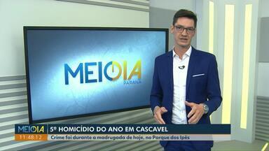 Rapaz de 21 anos é morto no Parque dos Ipês - Mateus Dias da Silva foi atingido pelo menos com 9 tiros.