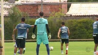 Ainda sem Geronel e Kannemann, Grêmio tem Zaga reserva amanhã - Renato Portaluppi pode começar o jogo com Thiago Neves