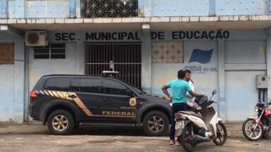 PF deflagra operação e cumpre mandados na prefeitura de Cruzeiro do Sul - PF deflagra operação e cumpre mandados na prefeitura de Cruzeiro do Sul
