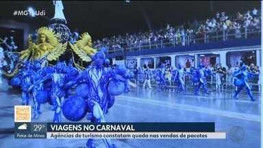 Agências de turismo em Uberlândia constatam queda nas vendas de pacotes no carnaval - Reportagem procurou algumas empresas da cidade. Por outro lado, a Associação das Agências de Viagens do Triângulo (Avit) ainda mantém o otimismo.