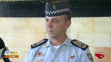 Comandante geral da PM fala sobre ataques em Vitória - Comandante geral da PM fala sobre ataques em Vitória.