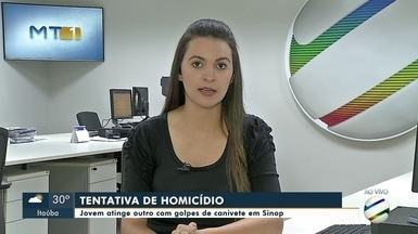 Tentativa de homicídio em Sinop - Tentativa de homicídio em Sinop