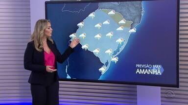 Calor segue intenso em todo RS, a chuva chega na maior parte do estado até o fim do dia - Assista ao vídeo.