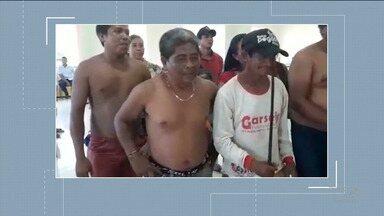 Índios Timbiras e Guajajaras ocupam sede da Câmara de Itaipava do Grajaú - Indígenas protestam e pedem melhorias em estradas vicinais da região.