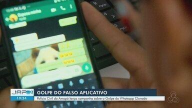 Polícia Civil do Amapá lança campanha contra golpe de whatsapp clonado - Delegado explica como funciona o golpe e como dificultar se tornar vítima.