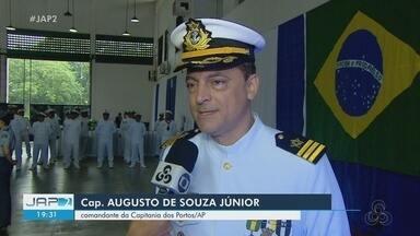 Marinha realiza troca de comando na Capitania dos Portos do Amapá - Cerimônia aconteceu nesta sexta-feira (14).