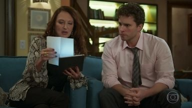 Graziela aconselha Alan sobre a contratação de Kyra - Ignácio se confunde e afirma que conhece a amiga da neta. Para aplacar o sofrimento do avô, Alan inventa que ele conversou com Alexia pelo telefone