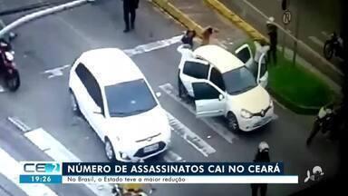 Cai número de assassinatos no Ceará, segundo Secretaria de Segurança do Estado - Confira mais notícias em g1.globo.com/ce