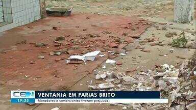 Tempestade causa estragos em Farias Brito, no Cariri - Confira mais notícias em g1.globo.com/ce