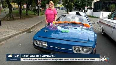 Carreata de Carnaval vai passar pelo Batel e pelo centro de Curitiba - O evento reúne os apaixonados por carros antigos.