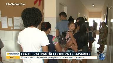 Dia D de vacinação contra o sarampo é realizado neste sábado - Postos de saúde de todo o estado funcionarão até as 17h.