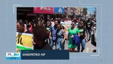 Petroleiros de mais uma plataforma da região aderem à greve da categoria - Segundo o Sindicato, há risco até de faltar combustível já no Carnaval.