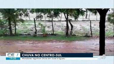 Moradores registraram chuva no Centro-Sul - Saiba mais em g1.com.br/ce
