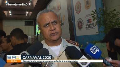 Confira: Esquema de segurança para o carnaval é apresentado na manhã desta segunda - Tecnologia do reconhecimento facial vai ser utilizado durante a festa.