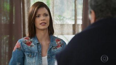Kyra diz para Ignácio que Alexia morreu - Ele estranha a a atitude da amiga da neta
