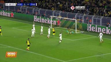 Pela Liga dos Campeões, Borussia Dortmund vence o Paris Saint-German por 2 a 1 - Pela Liga dos Campeões, Borussia Dortmund vence o Paris Saint-German por 2 a 1