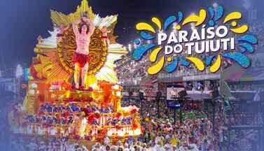 """Paraíso de Tuiuti - Grupo Especial (RJ) - Íntegra do desfile de 23/02/2020 - """"O santo e o rei"""" mostra o encontro de Dom Sebastião, rei de Portugal, com São Sebastião, padroeiro do Rio de Janeiro."""
