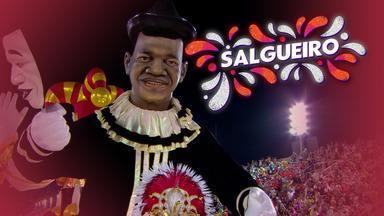 """Salgueiro - Grupo Especial (RJ) - Íntegra do desfile de 24/02/2020 - """"O rei negro do picadeiro"""" conta a vida e obra de Benjamin de Oliveira, o primeiro palhaço negro do Brasil, que completaria 150 anos em 2020."""