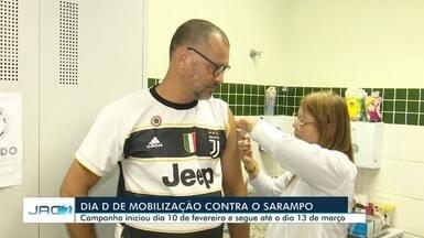 Dia 'D' de vacinação contra sarampo mobiliza 12 unidades de saúde em Rio Branco - Dia 'D' de vacinação contra sarampo mobiliza 12 unidades de saúde em Rio Branco