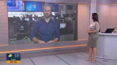 Daniel Scola comenta sobre operação Policial realizada na Região Metropolitana - Assista ao vídeo.