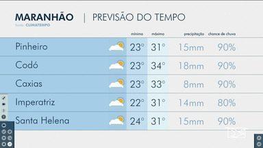 Veja as variações das temperaturas no Maranhão - Confira a previsão do tempo nesta sexta-feira (21) em São Luís e também no interior do estado.