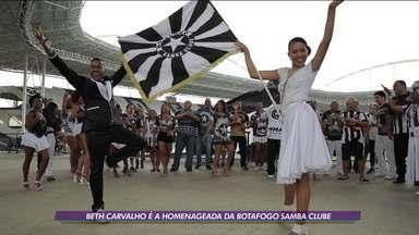 Beth Carvalho é homenageada no enredo da Botafogo Samba Clube - Beth Carvalho é homenageada no enredo da Botafogo Samba Clube