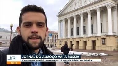 JA vai à Rússia para reportagem especial dos 20 anos do Bolshoi no Brasil - JA vai à Rússia para reportagem especial dos 20 anos do Bolshoi no Brasil