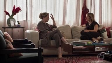 Regina desabafa com Lígia - Lígia diz à amiga que está tensa, mas também esperançosa com o acordo de guarda compartilhada de Nina