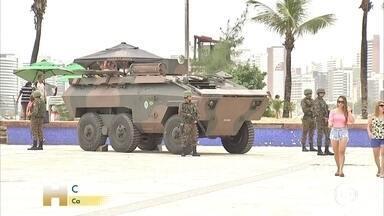 Ceará registra 147 homicídios em cinco dias de motim da PM - A greve de parte da PM já dura uma semana. Presença de militares e da Força Nacional de Segurança nas ruas do estado ainda não diminuiu a violência.