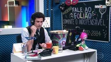 CAT BBB: Tem até 'reclamação' do apresentador Tiago Leifert - CAT BBB: Tem até 'reclamação' do apresentador Tiago Leifert