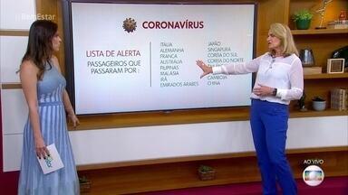 Confirmação de primeiro caso de coronavírus no Brasil sai a qualquer momento - Infectologista avisa que não é momento de a população entrar em pânico e explica que cuidados se deve ter para prevenir o contágio
