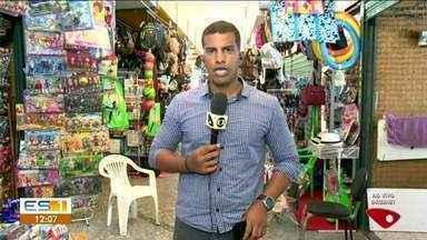Camelódromo é alvo de criminosos no Centro de Linhares, ES - Local funciona ao lado do mercado municipal.