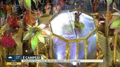 Viradouro é a grande campeã do carnaval 2020 - A escola de samba de Niterói levou o título de melhor escola de samba do Rio. A disputa pelo título foi bem acirrada.