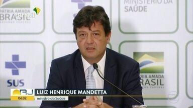 Rio de Janeiro tem cinco casos suspeitos de coronavírus - A Secretaria Estadual de Saúde do Rio informou que o estado tem cinco casos suspeitos de coronavírus. Nesta quarta-feira (26) o Ministério da Saúde divulgou que está investigando 2 casos suspeitos do novo coronavírus no Rio.
