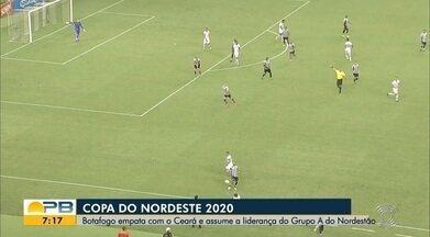 Assista aos gols do empate entre Ceará e Botafogo-PB, pela Copa do Nordeste - Vozão e Belo empataram por 2 a 2 em partida realizada no Estádio Castelão, em Fortaleza, no Ceará. Com o resultado, o time paraibano assumiu a ponta do Grupo B da competição regional.