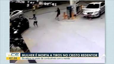 Enterrado corpo de comerciante morta em tiroteio - Saiba mais em g1.com.br/ce