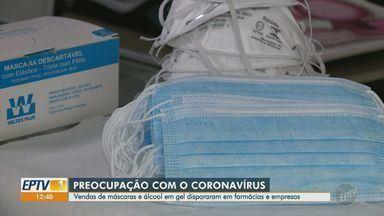 Cuidados com a higiene pessoal devem ser adotados para evitar transmissão do coronavírus - Seis pessoas da região de Campinas tiveram contato com o homem diagnosticado com o novo coronavírus no Brasil. Veja as formas de transmissão da doença Covid-19 e como se prevenir.