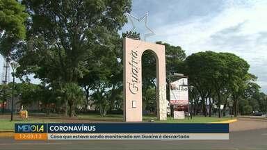 Sesa descarta suspeita de Coronavírus em Guaíra - O material coletado foi analisado pelo Laboratório central do estado, em Curitiba.