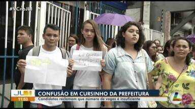 Prefeitura de Belém encerra matrículas para o cursinho pré-vestibular gratuito - Prefeitura de Belém encerra matrículas para o cursinho pré-vestibular gratuito