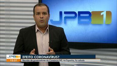 Reunião de governadores do Consórcio Nordeste na Espanha é adiada - Viagem foi cancelada devido o coronavírus.