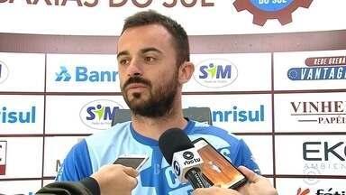 No retorno após o título, Caxias prega confiança - Equipe busca vencer o returno para ser campeão gaúcho.