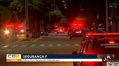 Polícia Civil faz plantão dobrado para garantir segurança de Juazeiro do Norte - Saiba mais em g1.com.br/ce