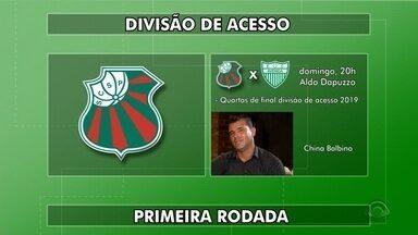 São Paulo, Bagé e Guarany estreiam na Divisão de Acesso 2020 - Veja quem são os adversários e o jogo da estreia das equipes na competição.