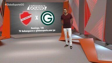 Globo Esporte GO - 27/02/2020 - Íntegra - Confira a íntegra do programa Globo Esporte GO - 27/02/2020.