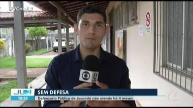 Em Jacundá, Defensoria Pública está sem atendimento há mais de 4 meses - Quem precisa dos serviços tem que buscar ajuda em outras cidades da região.