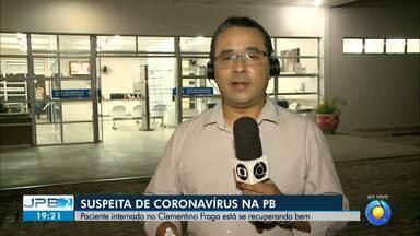 JPB2JP: Médica infectologista esclarece mitos e dá explicações sobre o coronavírus - Paciente internado no Clementino Fraga, com sintomas suspeitos da doença, está se recuperando bem.