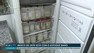 Banco de leite de Cascavel está com estoque baixo - As doações caíram quase 40% neste mês. O estoque deve durar só mais três semanas.